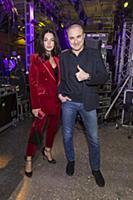 Михаил Турецкий с супругой. Вручение премии «100 с