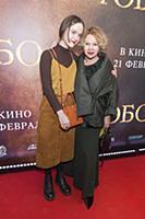 Елена Валюшкина с дочерью. Премьера фильма «Тобол»