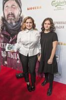 Ирина Пегова с дочерью. Премьера фильма «Затерянны