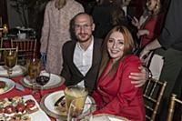 Анастасия Спиридонова с супругом. Премия «Пара год