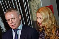 Вячеслав Фетисов с супругой. Премия «Пара года 201