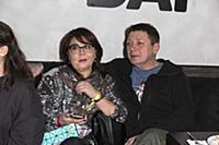 Ян Цапник с супругой. Презентация сериала «90-е. В