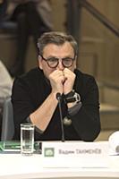 Вадим Такменев. Пресс-конференция, посвященная тре