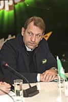 Андрей Благодыренко. Пресс-конференция, посвященна