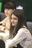 Валерия Адлейба. Пресс-конференция, посвященная тр