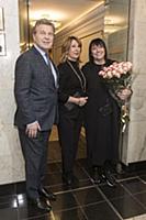 Лев Лещенко с супругой, Алла Духова. «Большой конц