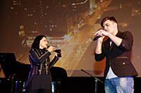 Татьяна Залужная (Любаша), Глеб Мелентьев. Концерт