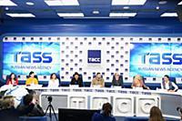 Пресс-конференция «Дай пять! Дизайнер будущего». ТАСС