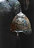 Шлем русского воина. XIV век.  Москва.