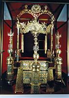 Двойной трон царей Петра и Ивана. XVII век. Москва