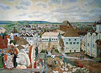 «Строительство Кремлевских соборов в XVI веке». Ху
