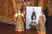 Игрушки царских детей. XVII век. Москва. Оружейная