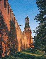 Стены и башни Московского Кремля. Набатная башня.