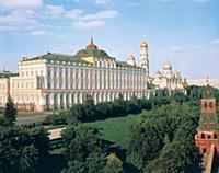 Большой Кремлевский дворец. 1980-е годы. Москва.