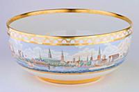 Чаша с панорамой г.Копенгагена - дар Копенгагена М
