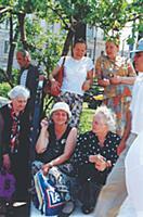 Московские пенсионеры. Конец 1990-х - начало 2000-