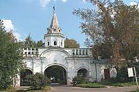 Ворота усадьбы царя Алексея Михайловича. Музей-уса