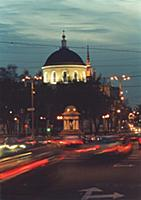 Площадь Никитские ворота - одна из красивейших в с