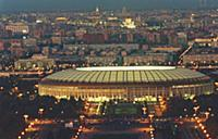 Крупнейший спортивный комплекс Москвы - Лужники. К