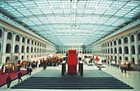 Выставочный комплекс расположился в историческом Г