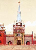 Башня печатного двора. Москва.