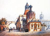 Никольские ворота. Москва.