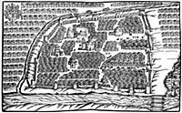 План Москвы XVI в. Москва.