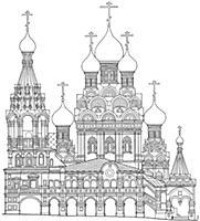 Церковь Троицы в Никитниках. Москва.