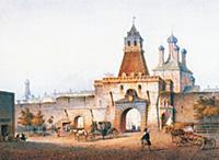 Ильинские ворота. Москва.