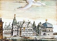 Царский дворец Алексея Михайловича в Коломенском.