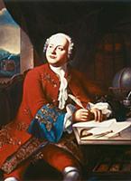 Великий русский ученый и поэт Михаил Ломоносов. Мо