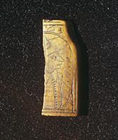 Костяная пластина с изображением фламандца. Москва