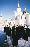 Братия Свято-Даниловского монастыря