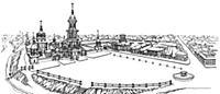 Реконструкция площади Спасо-Андроникова монастыря