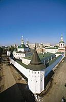 Башни и стены Свято-Даниловского монастыря