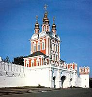 Надвратная церковь Новодевичьего монастыря