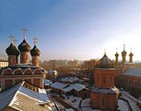 Панорама Высокопетровского монастыря