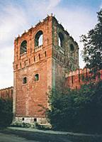 Крепостная башня Донского монастыря