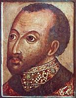 Царь Федор Иоанович. Парсуна XVI  в.