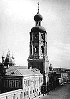 Монастырская колокольня Высокопетровского монастыр