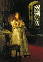 Царевна Софья в Новодевичьем монастыре в 1698 г