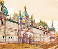 Кадашевский Ткацкий двор в XVII в