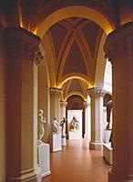 Интерьер одного из залов Пушкинского музея