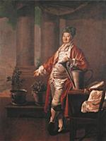 Портрет купца П.Демидова, покровителя Воспитательн