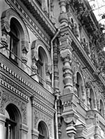 Фрагмент фасада Политехнического музея