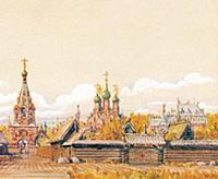Московская слобода в Земляном городе