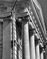 Фрагмент фасада дома Пашкова