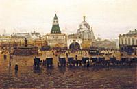 Вид Лубянской площади. Пелевин И.А