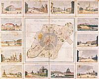 План столичного города Москвы 1825 г