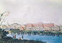Московский университет (вид с реки Неглинки) Аквар